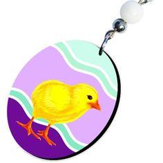 Kolczyki Jajeczka z Kurczaczkiem - Wielkanoc - Ozdoby świąteczne