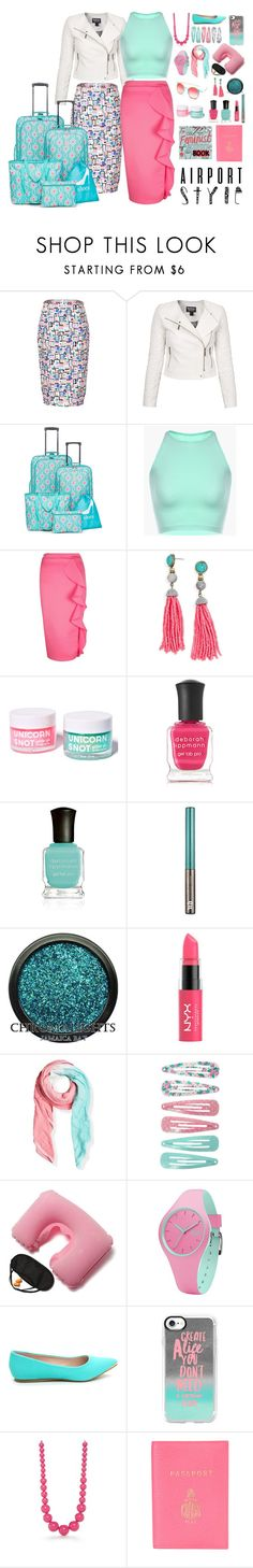 """TSA Runway"" by quript on Polyvore featuring Barbour International, New Directions, Boohoo, BaubleBar, FCTRY, Deborah Lippmann, Urban Decay, Marloe London, Ice-Watch and Casetify"