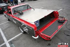 Mike Holleman's 1965 Chevy El Camino getting charged up with an OPTIMA® Chargers Digital 1200 Charger & Maintainer
