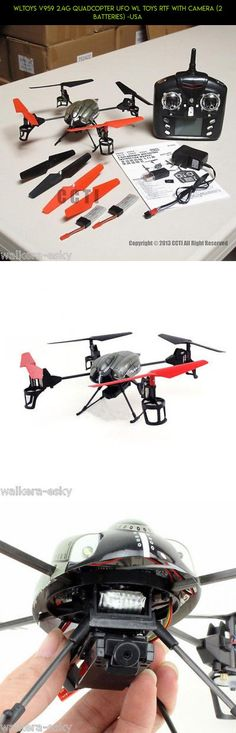 WLToys V959 2.4G Quadcopter UFO WL Toys RTF with Camera (2 Batteries) -USA #gadgets #camera #tech #fpv #products #plans #shopping #technology #drone #quadcopter #kit #wltoys #parts #racing