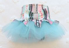 Female Dog Diaper TuTu Skirt Perfect for your by piddleronthewoof, $16.50