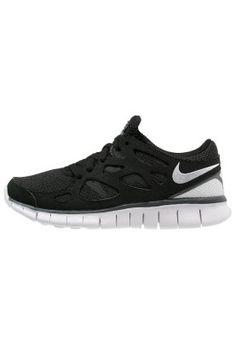FREE RUN 2 - Sneakers - black/white/dark grey
