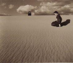 shōji ueda, my wife in the dunes, 1950