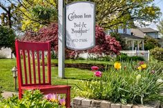 Red Chair Travels to The Carlton Inn Bed and Breakfast