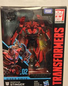 Transformers Deluxe Class Studio Series Stinger MIB 02
