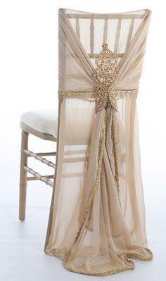 Nala Champagne Chiavari Chair Sleeve
