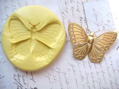 Dragonfly Silicone Mold Mould Craft Mold Jewelry by MoldMuse Resin Molds, Silicone Molds, Jewellery Stamping, Biscuit, Food Mold, Cleaning Mold, Polymer Clay Tools, Fondant Molds, Mold Making