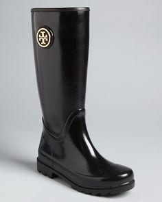Tory Burch Logo Rain Boots - Sarah - Shoes - Bloomingdale's