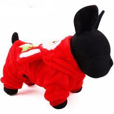 Christmas Fairy Dog Hoodie