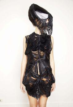 Avant-Garde Clothing | Avant-Garde Fashion, Girl in Black, Strange, ... | Clothing: So out t ...