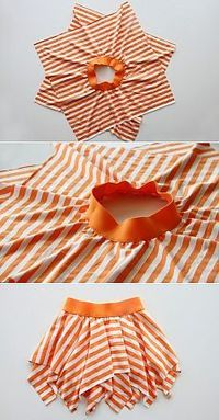 DIY Projects with One Yard or Less of Fabric DIY Skirt Tutorial from Make It & Love It. I can't sew so can someone make this for me?DIY Skirt Tutorial from Make It & Love It. I can't sew so can someone make this for me? Fabric Crafts, Sewing Crafts, Sewing Projects, Diy Projects, Sewing Hacks, Sewing Tutorials, Sewing Patterns, Sewing Ideas, Knitting Patterns
