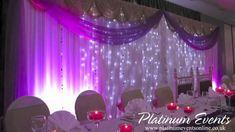 Platinum Events Full Wedding Event Decor Leicester Tigers Rugby Stadium