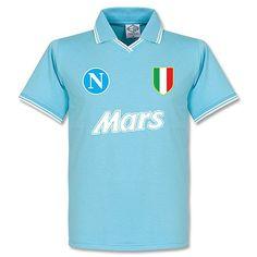 Napoli campione d' Italia Classic Football Shirts, Football Kits, Team Shirts, Football Jerseys, Replay, Vintage Shirts, Polo Ralph Lauren, Game, Mens Tops