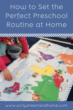Use my method of creating a preschool routine at home that is unique to your family and child. A preschool routine that promotes peaceful days and a strong love of learning.