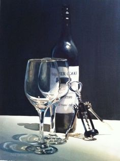 Gallery of Available Original Watercolors - Paul Jackson Watercolors John Paul Jackson, Wine Photography, Wine Art, Realistic Paintings, Watercolor Paintings, Watercolors, Still Life Art, Figure Painting, Painting Techniques
