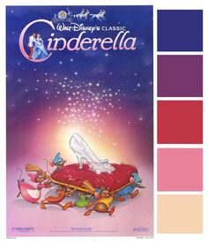 Disney Wedding Inspiration: Poster Palette - Cinderella
