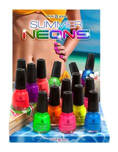 neon polish. NEED THESE