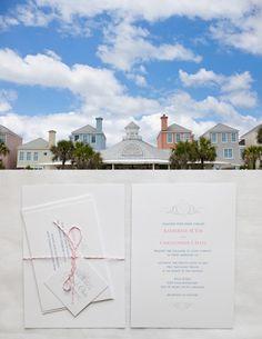 Charleston wedding at Wild Dunes Resort