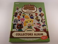 Animal Crossing Amiibo Cards: Collectable Album + Series 1 Cards Nearly Complete #Nintendo
