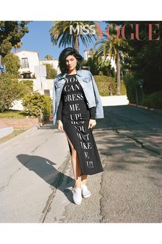 Kylie Jenner in Miss Vogue's October 2014 issue