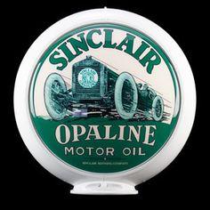 Sinclair Opaline Motor Oil Globe