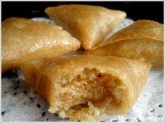 Briouates aux amandes/cacahuètes et miel - A l'orée des douceurs