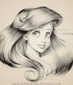 lindo o brilho do cabelo da Ariel!