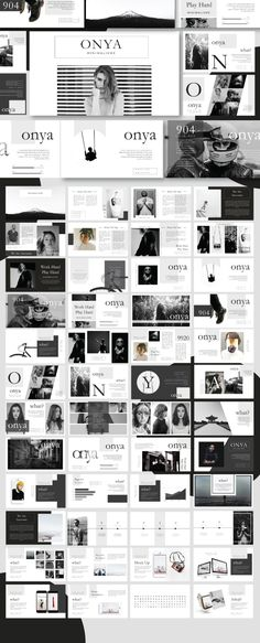 Onya Creative Minimal Powerpoint - Creative PowerPoint Templates