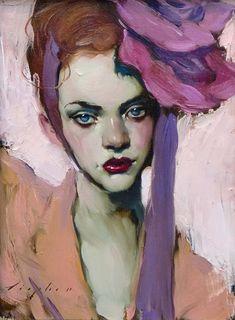 Pink Flower by Malcolm Liepke