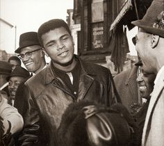 """politics-war: """" Malcolm X and Muhammad Ali after his championship win In Harlem January """" Muhammad Ali Boxing, Muhammad Ali Quotes, Black Planet, Black Leaders, Hometown Heroes, Malcolm X, African American History, Black Power, Black History Month"""