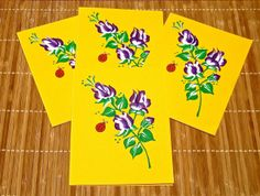 I just listed Blank Cards With Hand Painted Roses by Paint It Pretty on The CraftStar @TheCraftStar #uniquegifts #paintedcards #paintednotecards