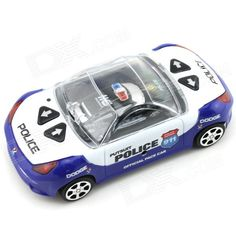 YDL-8809-3 Mini 40MHz 2-CH Remote Control R/C Racing Car - Black + Blue + Multicolor (2 x AA). Vivid police car miniature style T/C toy; - Shock mitigation system; - Stylish, portable and durable.. Tags: #Hobbies #Toys #R/C #Toys #R/C #Cars