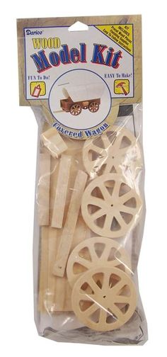 Covered Wagon Wood Model Kit - on sale for 74 Cents! Several of these would be inexpensive gifts for a shoe boxes for boys! Pioneer Crafts, Wagon Trails, Wild West Party, Westward Expansion, Rainbow Resource, Covered Wagon, Hands On Activities, Pioneer Activities, Oregon Trail