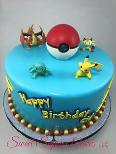 Pokemon Cake Pokemon Go Cake Sweet Suprise Cakes, LLC. | CAKE GALLERY