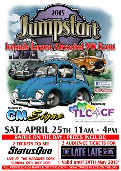 Jumpstart, April 25th, 2015, Hosted by Carbs & Chrome