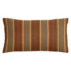 Cushion Source 20 x 12 in. Striped Sunbrella Indoor / Outdoor Lumbar Pillow - NCGN9-56001