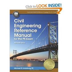 About the author The book of Civil Engineering Reference Manual for the PE Exam is written by Michael R. Civil Engineering Books, Always Be Grateful, Project Management, Life Is Beautiful, Civilization, The Help, Manual, Coding, Peace