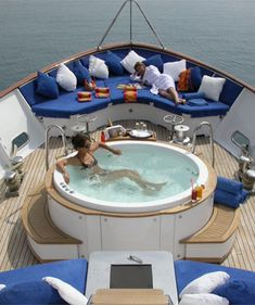 Hen party on a private yacht......oh the fun that would be had! If only we had a private yacht!
