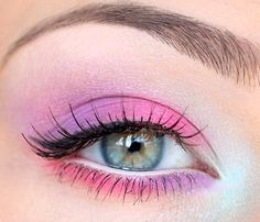 pink and violet