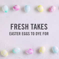 for a mess-free way to dye Easter eggs Martha Stewart has the hookup. All you need is shaving cream, food dye, and a muffin tin. Oh, and maybe a bunny apron for good measure! Shop now to grab what you need. Easter Egg Dye, Coloring Easter Eggs, Hoppy Easter, Easter Food, Easter Bunny, Shaving Cream Easter Eggs, Egg Coloring, Ostern Party, Diy Ostern