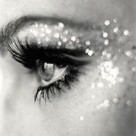 Lashes, sparkle, love.