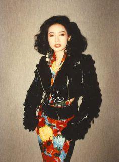 """rubyrubygloom: """" Love HK""""s best artist ever-Anita Mui """" Thalia, 80s Fashion, Vintage Fashion, High Fashion, Anita Mui, Maggie Cheung, Hongkong, Retro Aesthetic, My Idol"""