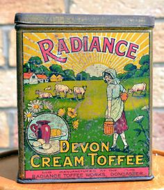 Vintage tins - Radiance Devon Cream Toffee   eBay