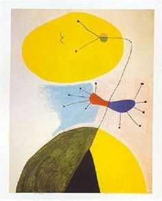 """Portrait"" by Joan Miro"
