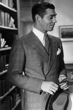 "Clark Gable in ""No Man Of Her Own"" (1932)."