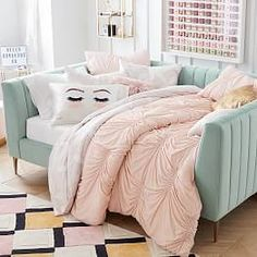 Find cute and cool girls bedroom ideas at Pottery Barn Teen. Shop your dream room with our teen room inspiration and ideas.