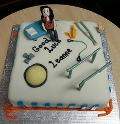Physiotherapy cake
