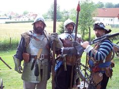 Thirty Years War reenactors.