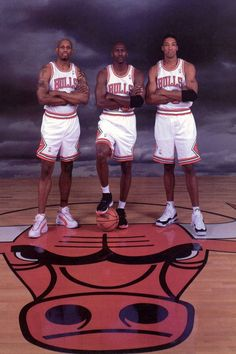 ~ Rodman ~ Jordan ~ Pippen ~ the best trio that was in the NBA