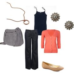 easy outfit, just need the flats and the bag